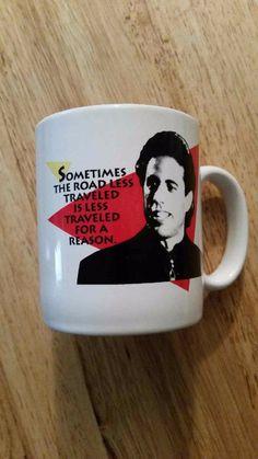 Seinfeld mug Kansas City Mo. 1993  Castle Rock Entertainment no chips or cracks