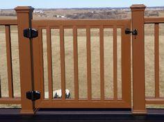 Testimonials - Trex Custom Deck Gates / Located in Rockland County, NY / Pet Gates / Dog Deck Gates / Pet Deck Gates / Azek / Timbertech / Fiberon / Veranda