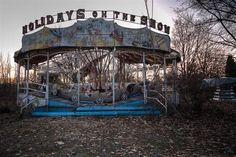 Abandoned amusement park in Italy