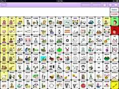 "Speak for Yourself is designed by Heidi LoStracco, MS, CCC-SLP and Renee Collender, MA, CCC-SLP who worked together for several years teaching children who are not able to talk to use Augmentative and Alternative Communication (AAC) devices.    This app offers a main screen of 119 of the most commonly used ""Core"" words from which you are able to access up to 5,000 words in what would be considered a user's ""fringe"" vocabulary with the ability to have a total of 14,000 words."