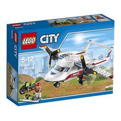 Con el Avión Médico de LEGO ayuda a los pacientes en cualquier lado a que se curen.