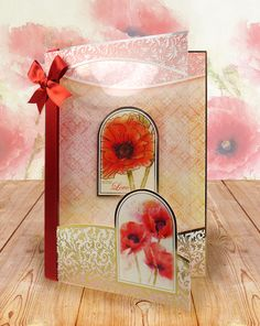 Arts And Crafts Style Furniture Card Kit, I Card, Kanban Crafts, Hunkydory Crafts, Poppy Cards, Butterfly Cards, Heartfelt Creations, Arts And Crafts Movement, Spring Crafts