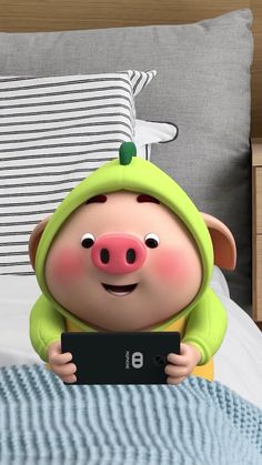 Pig Wallpaper, Iphone Wallpaper, Kawaii Pig, Cute Piglets, Pig Drawing, Pig Illustration, Funny Pigs, Mini Pigs, Purple Love