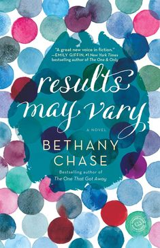 Bethany Chase - Results May Vary / #awordfromJoJo #WomensFiction #ChickLit #BethanyChase #Contemporary