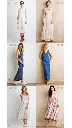 ..Luxe Look for Less: Anthropologie Dresses