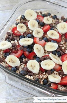 Baked Oatmeal Casserole Recipe. A favorite breakfast bake, not to mention convenient and healthy.