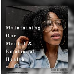 Maintaining Our Mental and Emotional Health - Good Mental Health LLC Mental Health Counseling, Mental And Emotional Health, Good Mental Health, Mental Health Awareness, Emotionally Exhausted, Self Compassion, Regular Exercise, Self Development, How To Stay Healthy
