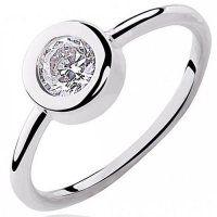 Striebrný prsteň so zirkónmi Swarovski, Engagement Rings, Jewelry, Enagement Rings, Wedding Rings, Jewlery, Jewerly, Schmuck, Jewels
