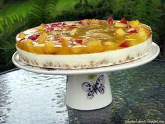 Vanilja-mangonektariinikakku