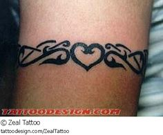 A tattoo design picture by Zeal Tattoo: arm,bands,armbands,tribal,cute,sexy,feminine,girly,girlie,female,woman,women,girl,lady,ladies,pretty,beautiful,heart