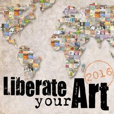 Liberate Your Art Postcard Swap