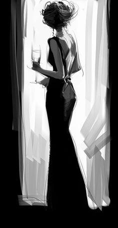 merde-petit-maitre: Illustration (by Zhuzhu, via larameeee)