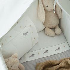 EMBROIDERED MOSES BASKET / CRIB SHEET SET - Collection - New Born | Zara Home United Kingdom