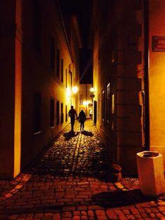 プラハの路地