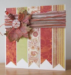 Button up and Saturday candy - Floral Fantasies corrugated board!