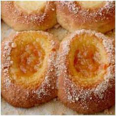 Kolaches and Toppings by Judy Smith 1 recipe Klobasneks (follows this recipe) 1 recipe Posypka (follows this recipe) Preserves or other fillings (suggestions and toppings recipes follow) Dough...
