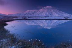 #камчатка #вулкан #толбачик #зима #рассвет #осень #фототур #снег #озеро Author: Денис Будьков
