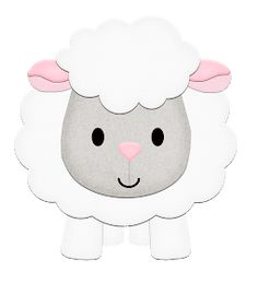 Very cute sheep, ideal as a template for crafting Sheep Crafts, Felt Crafts, Easter Crafts, Diy And Crafts, Crafts For Kids, Quilt Baby, Felt Patterns, Applique Patterns, Farm Birthday