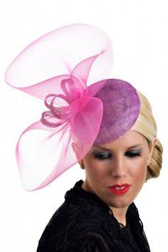 Adele - by K J Millinery #millinery #hats #HatAcademy