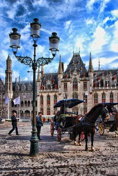 Central Plaza, Bruges, Belgium.. So beautiful in person. Take me back!