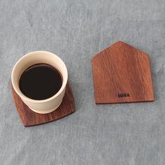 IDEE SHOP Online IDEE Acacia コースター: キッチン・テーブルウェアデザイン家具 インテリア雑貨: