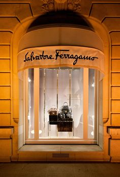 d597a86a21204 Salvatore Ferragamo windows 2014 Summer, Paris – France » Retail Design Blog
