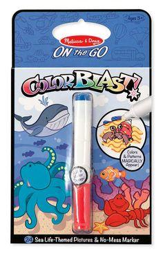 Colorblast Activity Book - Sea Life