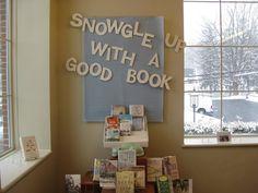 Winter book display