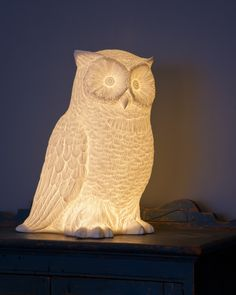 A great house night light in porcelain.