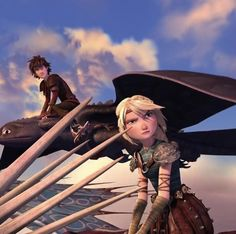 Hiccstrid | Hiccup and Astrid | Toothless and Stormfly | RTTE