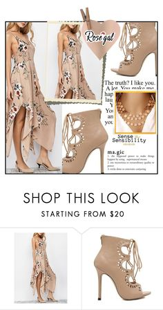 """""""Rosegal 2"""" by aida-ida ❤ liked on Polyvore featuring beauty and vintage"""