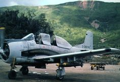 The secret air war over Laos during the Vietnam Conflict.