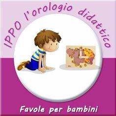ippo orologio didattico - favole per bambini