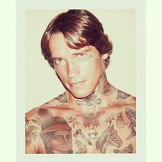 Old and comtemporary Celebrities covered in tatoos 3