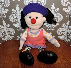 Big Comfy Couch Loonette Plush Doll 18 inches by VintyThreads