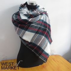 Spotted while shopping on Poshmark: Plaid Blanket Scarf! #poshmark #fashion #shopping #style #Accessories