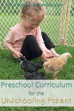 Homeschool Preschool Curriculum for the Unschooling Parent - Building your own preschool curriculum is simple and easy. Find out how I facilitate hands on learning everyday. No worksheets or sitting still!