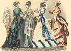 Fashion Plate from 1861