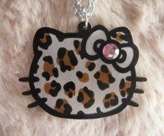 leopard hello kitty