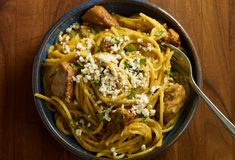 Tres Quesos Chicken Pasta recipe from Season Six of Pati's Mexican Table