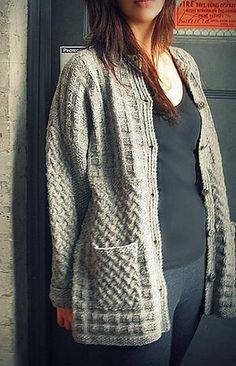 Ravelry: Walking Around Jacket pattern by Ram Wools Yarn Co-op, free pattern Sweater Knitting Patterns, Knit Patterns, Free Knitting, Knitting Sweaters, Yarn Store, How To Purl Knit, Jacket Pattern, Knit Or Crochet, Pullover