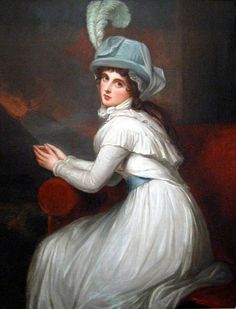 """Emma Hamilton"", George Romney, ca. 1795; location unknown"