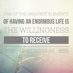 What energy, space and consciousness can you be to allow you to receive everything you've been refusing to receive? #garydouglas #accessconsciousness #trustthatyouknow