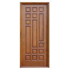 Doors Buscar Con Google Wooden Panel Design Front Door Wood