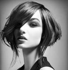 Short Extremely Filled Bob Cut