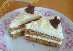 Vanilkovo-kokosové rezy - Rezy, ktoré sú svieže a výborne chutia. Cheesecake, Desserts, Food, Vanilla Cake, Tailgate Desserts, Deserts, Cheesecakes, Essen, Postres
