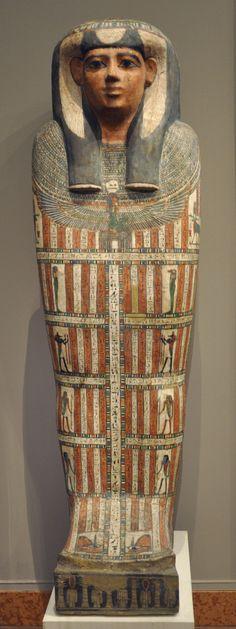 High Priestess sarcophagus, Roman era.