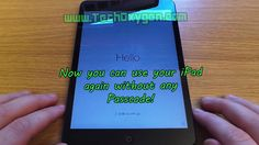 How to reset a disabled and locked iPad this will work on any model and will help to remove any passcode or a disable screen that you may have on your iPad.