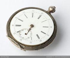 DigitaltMuseum - Ur Pocket Watch, Watches, Accessories, Pictures, Wristwatches, Clocks, Pocket Watches, Jewelry Accessories