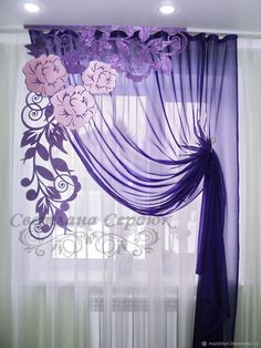 1 million+ Stunning Free Images to Use Anywhere Swag Curtains, Luxury Curtains, Elegant Curtains, Home Curtains, Modern Curtains, Kitchen Curtains, Purple Curtains, Window Curtain Designs, Curtain Styles
